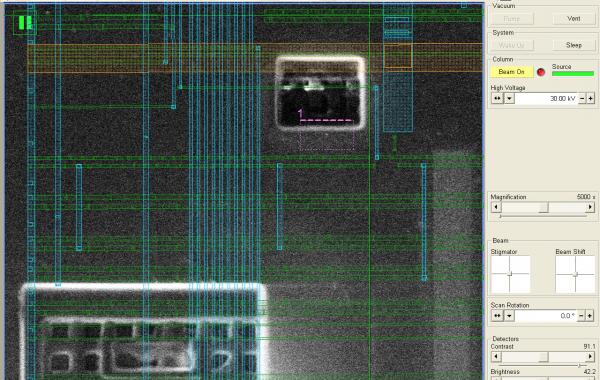 FIB Circuit Edit